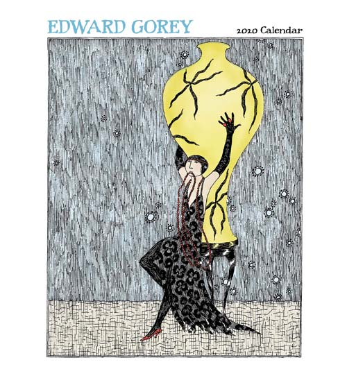 ゴーリー2020カレンダー(大)Edward Gorey 2020 Calendar