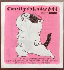 町田尚子チャリティーカレンダー(nowaki謹製)