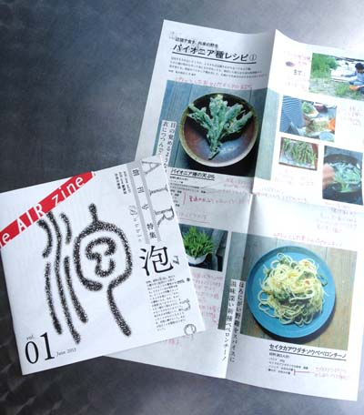 AIR zine vol.1 泡号