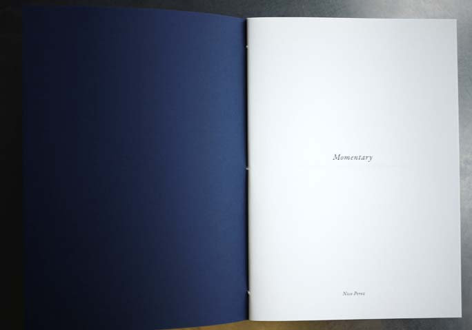 Nico Perez写真集『Momentary』